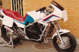 1984 デイトナ VF750F