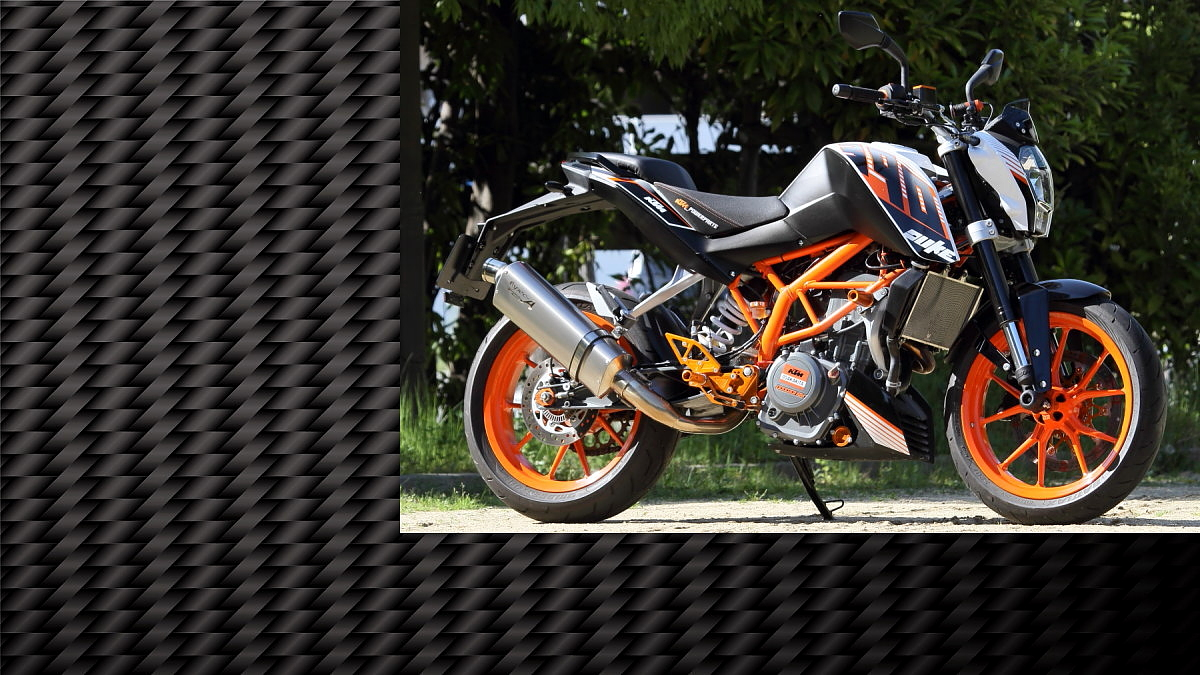 開発ストーリー|KTM 390DUKE/RC390 SUS SLIP-ON