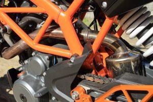 KTM・390DUKE/RC390用スリップオンマフラー