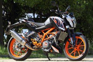 KTM 390DUKE/RC390 スリップオンマフラー